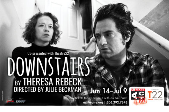 The Seattle Premiere of Downstairs by Theresa Rebeck